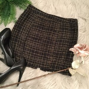 FOREVER 21 TWEED MINI SKIRT